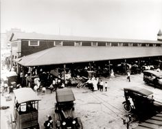 Detroit's Eastern Market 1918
