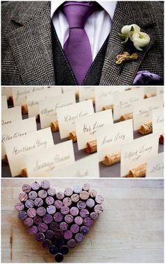 purple colour palette wedding