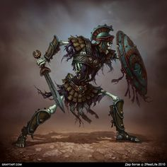 Skeletons for Godsand game on Behance