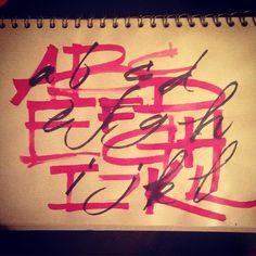 Calligraphy by Sam