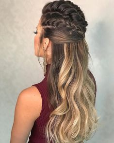 56 Dope Box Braids Hairstyles to Try - Hairstyles Trends Box Braids Hairstyles, Wedding Hairstyles, Hairstyle Ideas, Black Hairstyle, Braided Ponytail Hairstyles, Princess Hairstyles, Layered Hairstyles, Hairstyle Short, School Hairstyles