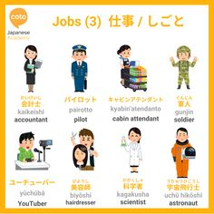 Japanese Language Course, Japanese Course, Japanese Language Lessons, Learn Japanese Words, Study Japanese, Japanese Culture, Learning Japanese, Japanese Conversation, Job 3