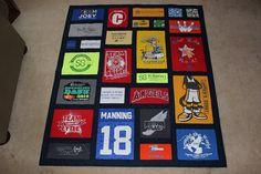 Custom Made T-Shirt Quilt Mosaic- DEPOSIT ONLY