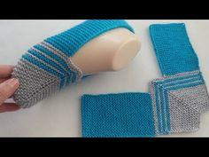 Crochet Bookmark Pattern, Crochet Edging Patterns, Crochet Designs, Knitting Designs, Knitting Basics, Knitting Stiches, Knitting Socks, Baby Knitting, Baby Cocoon Pattern