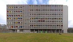 Unité d'habitation de Briey (Cité radieuse de Briey-en-Forêt); Le Corbusier; 1959-1960
