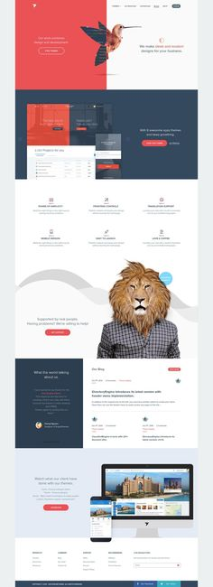 EngineThemes Re-design on Behance