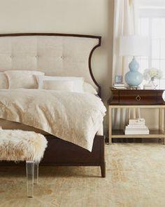 Hooker Furniture Bedroom Chatelet King Wood Panel Bed 5300-90266 ...