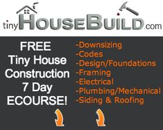 Free ECourse on building a tiny house, offered by Andrew and Gabriella Morrison whose adorable tiny house is featured here: http://www.viralnova.com/tiny-house-oregon/