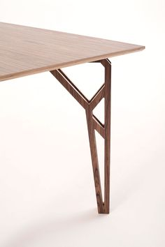 Sleek Modern Iron Dining Tables by Charleston Forge Wood Furniture Legs, Steel Furniture, Bespoke Furniture, Furniture Projects, Table Furniture, Furniture Makeover, Cool Furniture, Furniture Design, Wall Dining Table