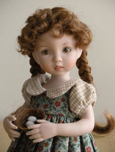 """Jessica""  made by Tamara Howell from Dianna Effner mold"