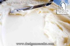 Crusting Cream Cheese Buttercream recipe... This baker is simply WONDERFUL...her words are inspirational to the person that was or enjoys baking as a hobby....love her techniques...:-)