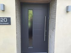 Make an entrance with a new front door! We have a great range of top quality front doors in a good selection of colours, finishes and endless options to make it look as you really want.
