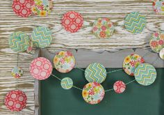Who is ready for SPRING? This little project is so fun and easy and is the perfect little touch of happy spring colors. Welcome Back Banner, Wood Circles, Classroom Setup, Happy Spring, Funky Junk, Spring Colors, Room Organization, Barn Wood, Burlap