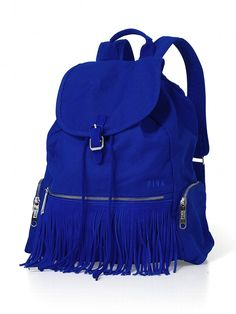 Fringe Backpack - PINK - Victoria's Secret. Holy goodness I need this for school.
