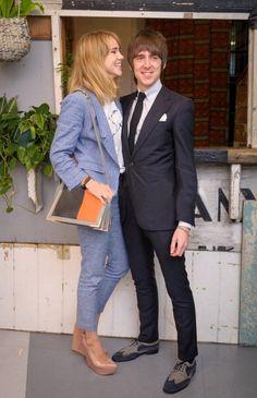 Miles Kane & Suki Waterhouse. Wish I was this glamourous!!