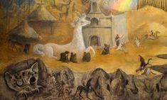 """Conoce """"El mundo mágico de los mayas"""", pintado por Leonora Carrington - Aristegui Noticias"""