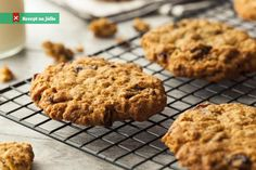Gluten free Dairy free Oatmeal Raisin Cookies — Your Gluten Free Kitchen Dairy Free Oatmeal Raisin Cookies, Gluten Free Oatmeal, Chocolate Chip Oatmeal, Chocolate Chips, Lactation Brownie Recipe, Lactation Cookies, Biscuits Aux Raisins, Cookies Et Biscuits, Brownie Recipes