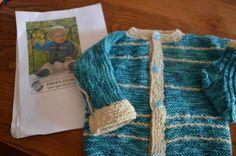 Il mio Mondo: giacca e calzini lavorati a maglia seguendo le spi...