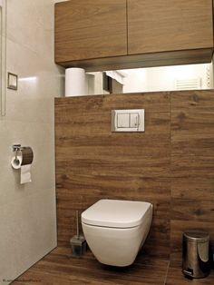 płytki imitujące drewno w łazience