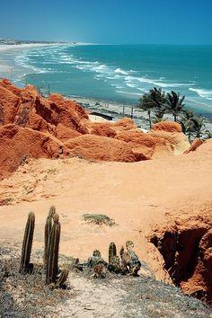 Morro Branco Beach, Ceara, Brazil.