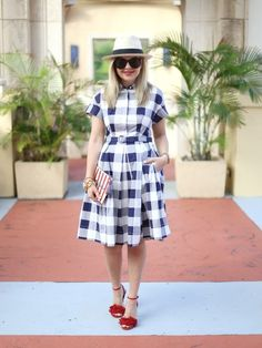 Darling Gingham Outfit Ideas | Vacation Style