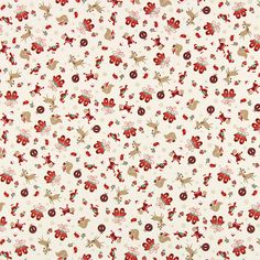 Christmas Friends 1 - Cotton - offwhite