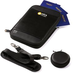 Storing travel documents safely and still making them easily accessible is not a difficult task anymore. Keep your travel experience organized with pockets special designed for each item. Save precious time and energy while you travel!  http://www.amazon.com/dp/B014W6SKUY