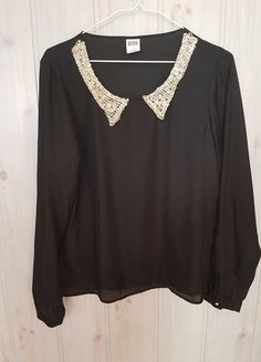 Kup mój przedmiot na #vintedpl http://www.vinted.pl/damska-odziez/bluzki-z-dlugimi-rekawami/14546238-bluzka-vero-moda-kolnierzyk