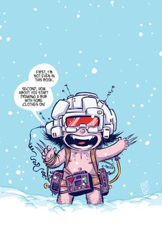 Death of Wolverine: Weapon X Baby Variant - Skottie Young