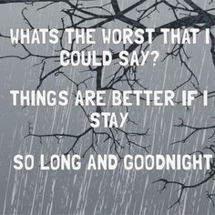 "#LyricArt for ""Helena - So Long & Goodnight   Album Version"" by My Chemical Romance"