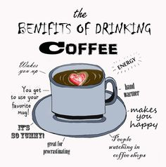 The benifits of drinking coffee