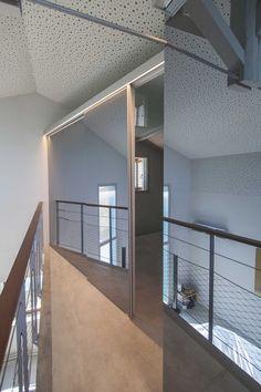 Acceso a las habitaciones. Proyecto: Habitación de invitados. Diseñador: Alfons Tost Interior Design