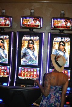 michael jackson slot machine