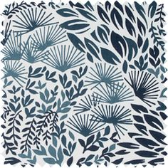 Hanabi Burst - midnight - If you're into arboreal patterns, look no further than this beautiful style. From our friends at DwellStudio.
