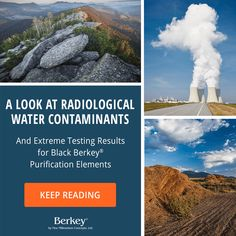 Radiological water contaminants are undesirable radioactive substances that have entered a water supply. Learn more.