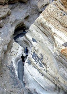 Love this!! Hiking & exploring the narrows of Mosaic Canyon in Death Valley National Park... Camping road trip anybody?