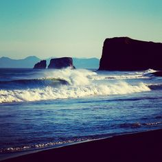 Surf trip to Kamchatka, Russia.  The #kamshaka crew has been lucking out with weather and waves. Photo by @chrisburkard
