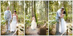 Treehouse point Elopement wedding - Crozier Photography