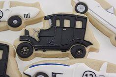 Classic Car Cookies,