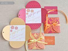 Tarjetas de regalo con forma de flor - PetalCards3