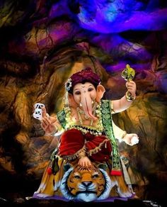 Shri Ganesh Images, Ganesha Pictures, Lord Krishna Images, Photos Of Ganesha, Lord Ganesha Paintings, Lord Shiva Painting, Ganesha Art, Ganesh Idol, Ganpati Songs