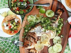 Whole Grilled Fish Tacos