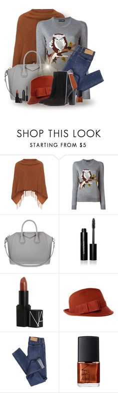 """""""Autumn Tones"""" by renna-ravenwood ❤ liked on Polyvore featuring Samoon, Dolce&Gabbana, Givenchy, Bobbi Brown Cosmetics, NARS Cosmetics and Cheap Monday"""