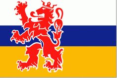 Limburgse Flag (Limburg is a province of The Netherlands)