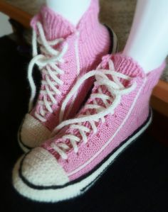 Converse, Sewing, Knitting, Crochet, Sneakers, Shoes, Fashion, Slipper, Tejidos