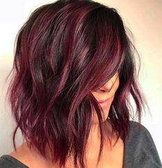 Colore capelli 2018: il rosso vin brulé è il trend top dell'inverno!