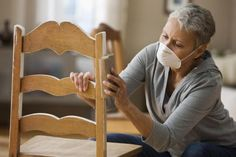 Planning to refurbish wooden furniture? Buy these items first including sandpaper, wood putty, primer, varnish and paint.