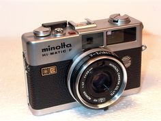 Lomography - Minolta Hi-Matic F: The Camera That Was Born on the Streets Film Camera, Camera Lens, Photographic Film, Rangefinder Camera, Classic Camera, Lights Camera Action, Travel Items, Camera Photography, Glamour Photography