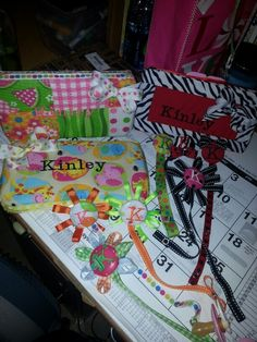 Stuff I made for kinley