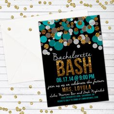 bachelorette bash bachelorette party invitation bachelorette - Save The Date Templates Free Online